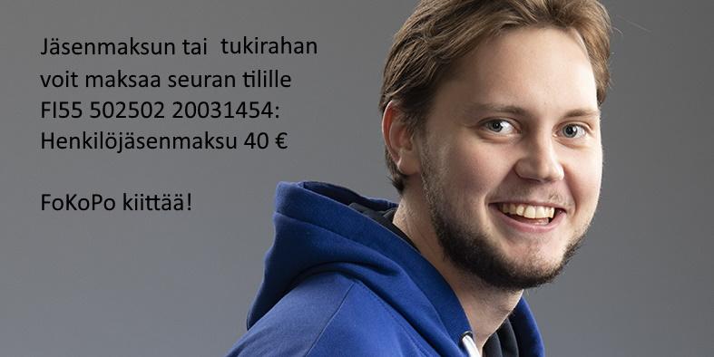 Jäsenmaksulla tuet FoKoPoa!