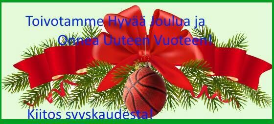 Hyvää Joulunaikaa!